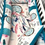 Baby Girl  Nursery Bedding Set , Baby , Mermaids , Sea , Floral  , Baby Bedding , Crib Bedding , Custom Order