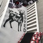 Baby  Nursery Bedding Set , Baby , Woodland , Buck, Little Man  , Lumberjack , Arrow  , Plaid , Baby Bedding , Babylooms Cri