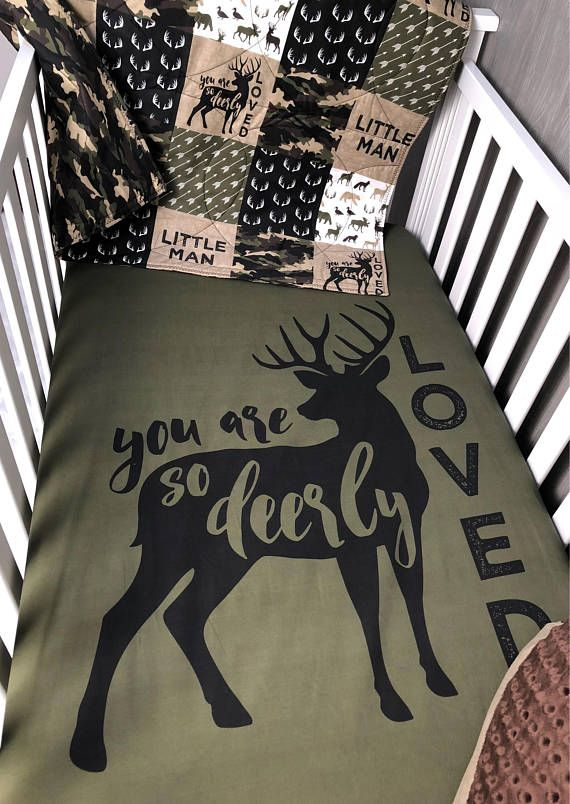 Baby  Nursery Bedding Set , Baby , Woodland , Deer, Moose , Camo ,Hunting  , Buck  ,  Bear ,  Arrow  , Baby Bedding , Babylooms Crib Bedding