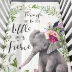 Baby Nursery Set , Baby/Toddler Blanket , Elephant  , Chevron , Elephant , Floral Boho , Baby Bedding , Crib Bedding
