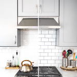Backsplash Tile Refresh: How to Make White Tile Pop for under $20 » NEVER SKIP BRUNCH