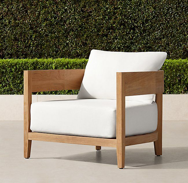 Balmain Teak Lounge Chair