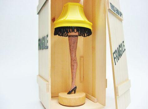 Barbie Leg Lamp
