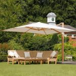 Barlow Tyrie Napoli 13' Square Cantilever Umbrella