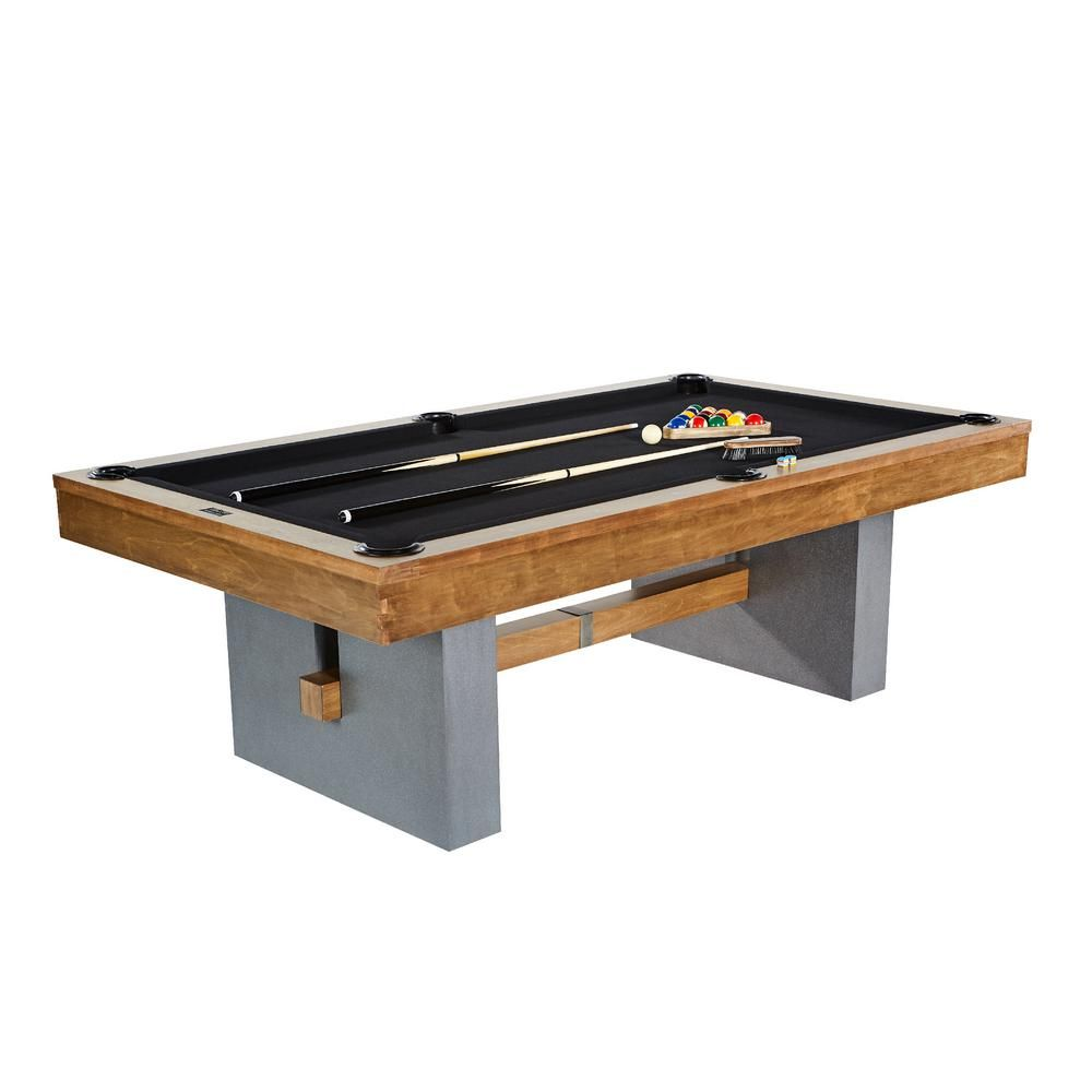 Barrington Urban Collection 8 ft. Billiard Table-BLL096_048B – The Home Depot