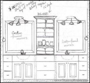 Bath Room Layout Double Vanity 62+ Ideas