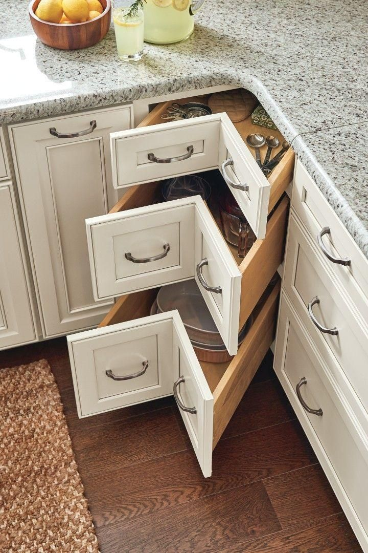 Be inspired by these innovative #kitchen and #bathroom #organization solutions a…