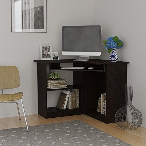 Beautiful corner computer desk for small   spaces