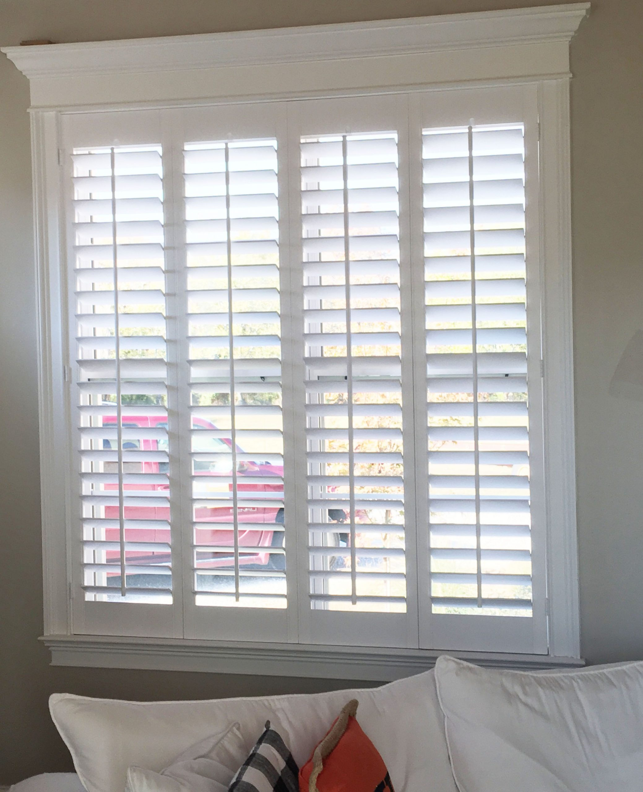Beautiful home, trim work and our plantation shutters – don't worry, don't wait …