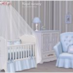 Bedroom for baby style 'Royal nursery' Found in TSR Category 'Sims 4 Downloads'