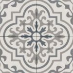 Bedrosians Tuscany - Dark Green, Blue, Gray, White Decorative Ceramic Tile