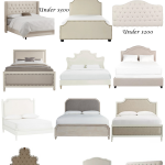 Beds and Upholstered Headboards Roundup - The Pink Dream