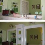 Before & After: From Big & Blank to a Built-In Look for the Bath