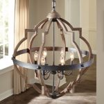 Bennington 6-Light Candle Style Geometric Chandelier
