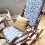 Bentwood Rocking Chair Upholstery Makeover