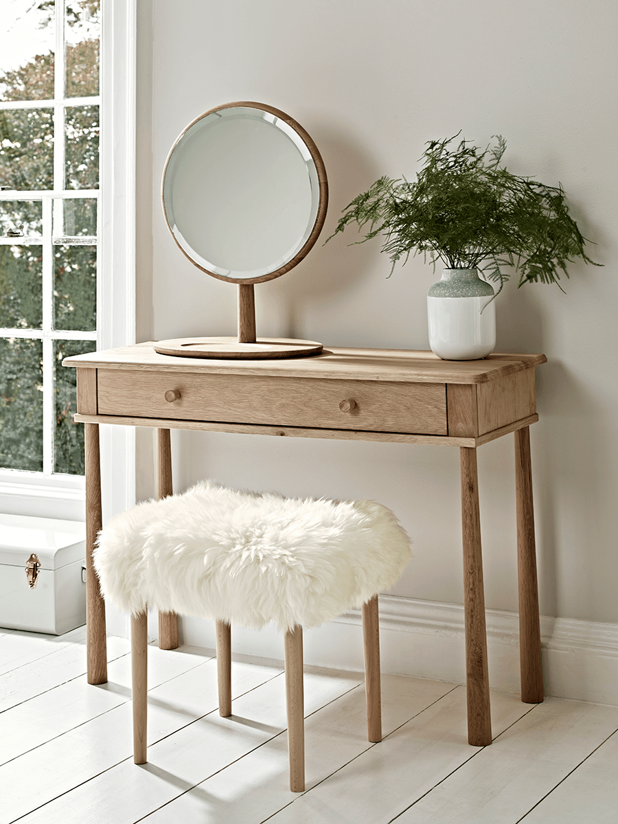 Bergen Oak Dressing Table – Natural