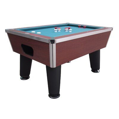 Berner Billiards The Brickell Professional 4.7′ Bumper Pool Table with Accessories | Wayfair