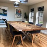 Bespoke Refined Wood Resin Tables & Live Edge Tops | Earthy Timber