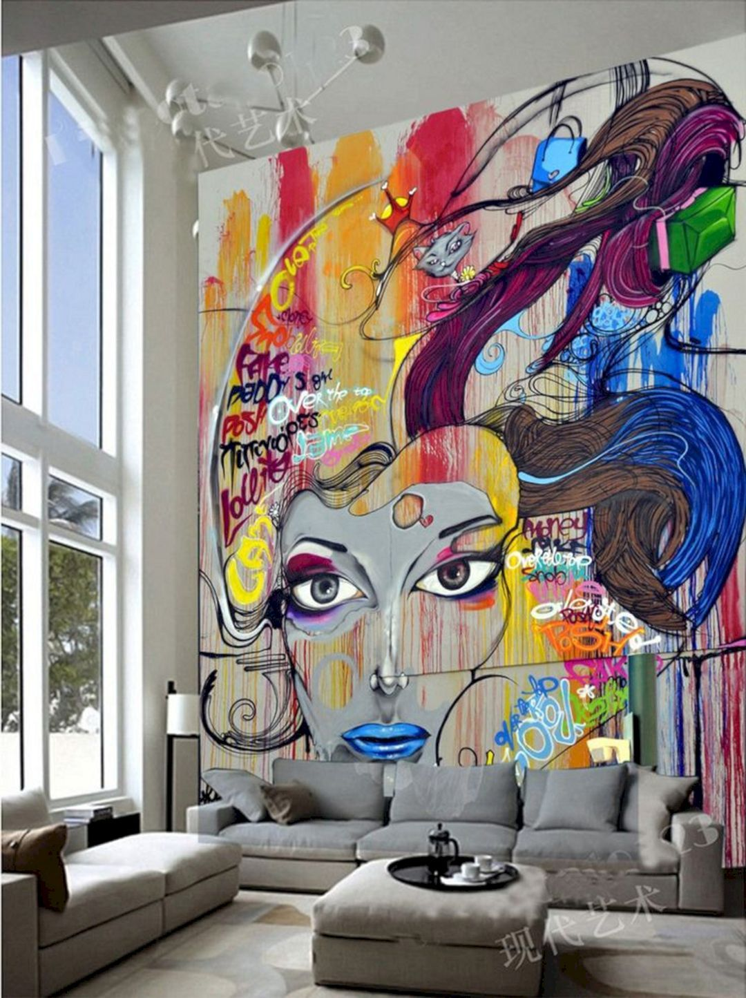Best 10+ DIY Wall Mural Artistic Design Ideas For Stunning Home Decoration