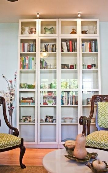 Ikea Home Office Library Ideas: Best Home Office Design Ikea Glass Doors Ideas