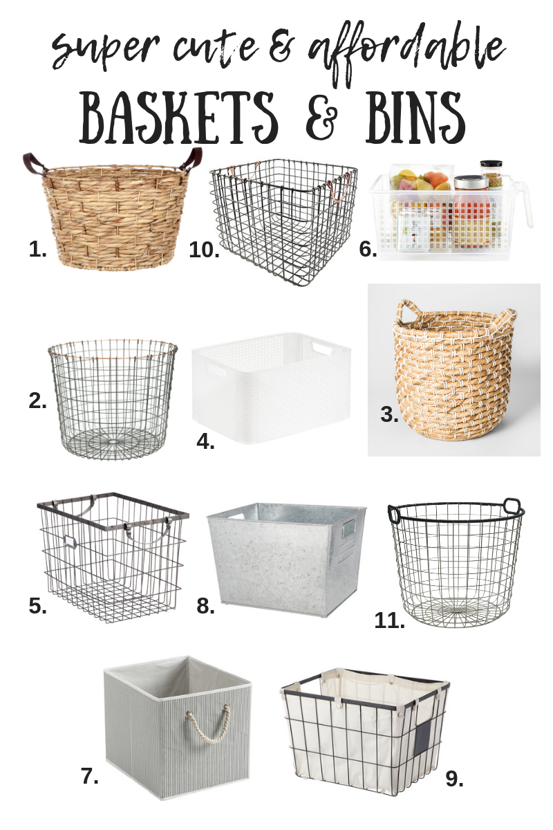 Best Home Organizing Products…Storage Baskets, Bins, and Boxes!