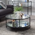 Best Seller Lamont Round Coffee Table - Black online - Perfectfurniture