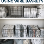 Best Ways to Use Wire Baskets for Storage in the Home - Simple Life of a Lady