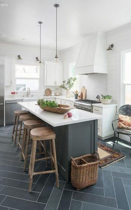 Best kitchen island small space seating ideas