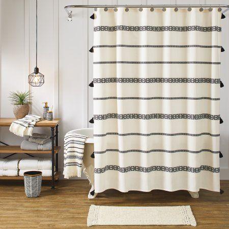 Better Homes & Gardens 72″ x 72″ Tribal Chic Shower Curtain, 1 Each – Walmart.com