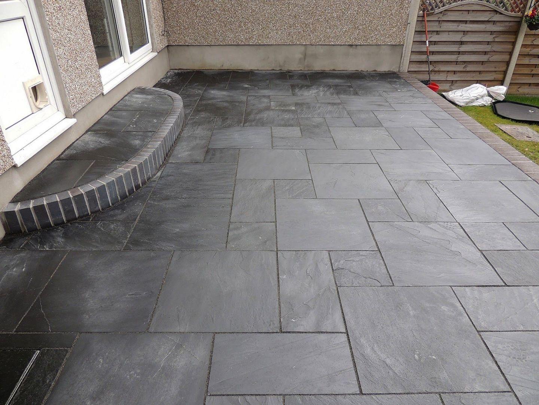 Black Slate Tile Outdoor Patio (Black Slate Tile Outdoor Patio) design ideas and photos