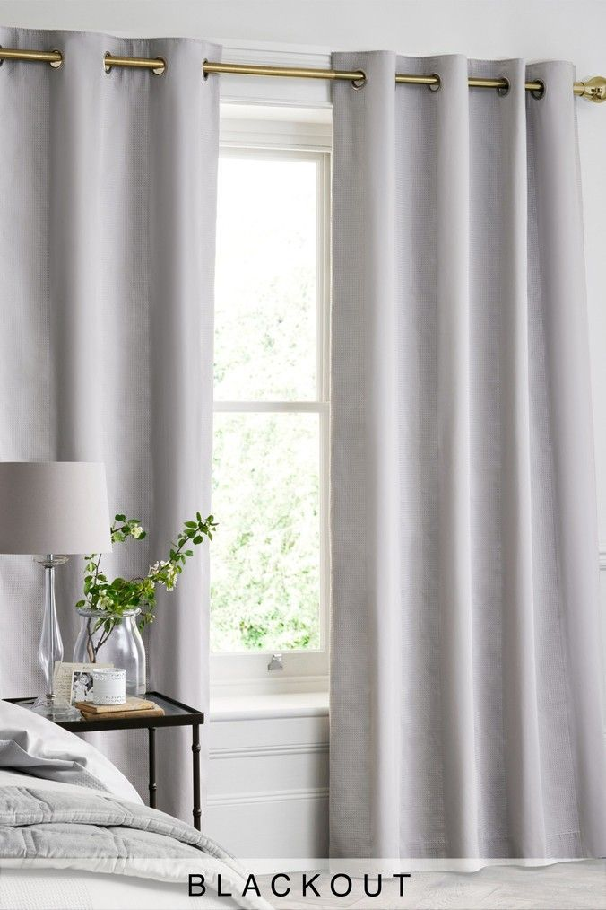 Blackout Eyelet Curtains | Floral & Glam Curtains