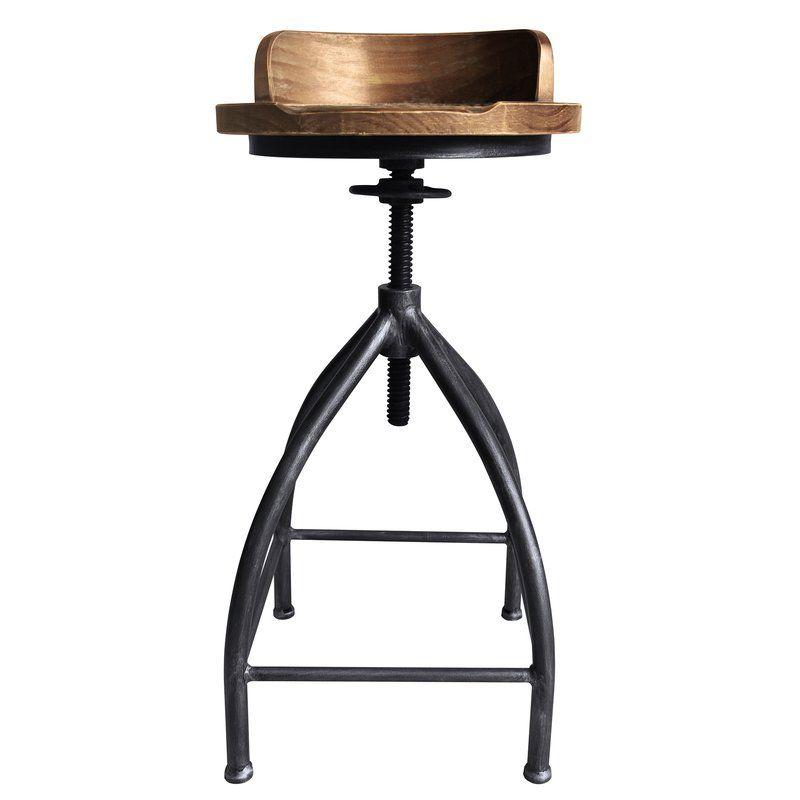 Blount Adjustable Height Swivel Bar Stool