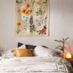 Botanical Wildflower Reference Chart Tapestry