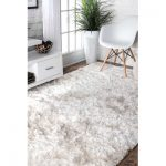 Brayden Studio Sisyphus Hand-Tufted White Area Rug | Birch Lane
