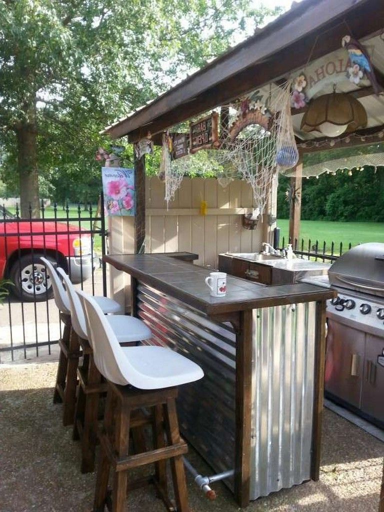 Breathtaking Backyard Bar And Grill Ideas – tyuka.info