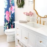 Bright White Chic Bathroom Renovation