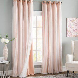Brockham Room Darkening Thermal Grommet Curtain Panels | Joss & Main