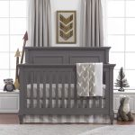 Buck Woodland (Taupe) Bumperless Crib Bedding | Liz And Roo