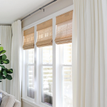 Budget-Friendly Living Room Window Treatments
