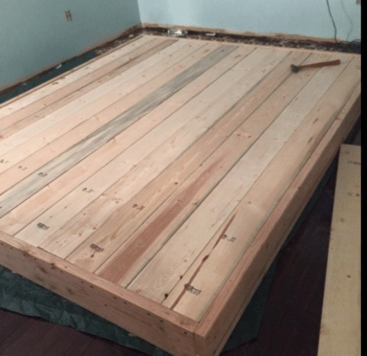 Build A Platform Bed in an Hour