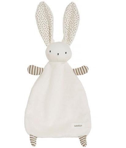 Bunny rabbit baby comforter