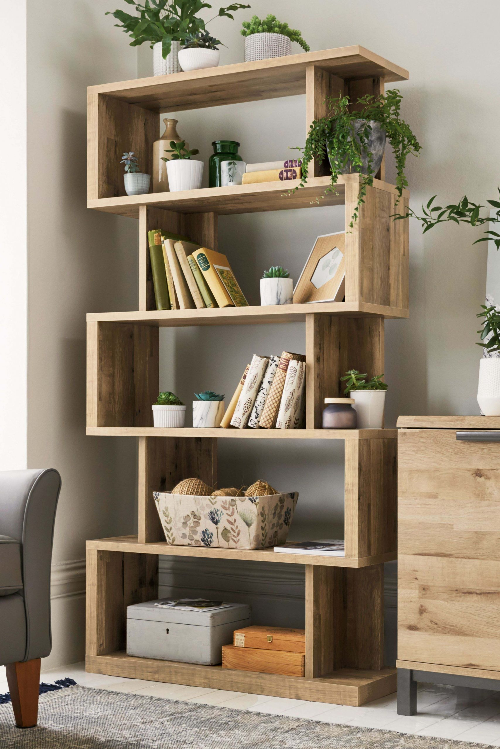 Buy Bronx Light Shelving Unit from the Next UK online shop