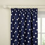Buy John Lewis Glow in the Dark Star Pencil Pleat Blackout Lined Curtains, Navy … - pickndecor.com/furniture