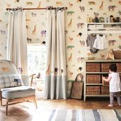 Buy your next curtains for your childrens bedroom or nursery from the Childrens Curtain Company