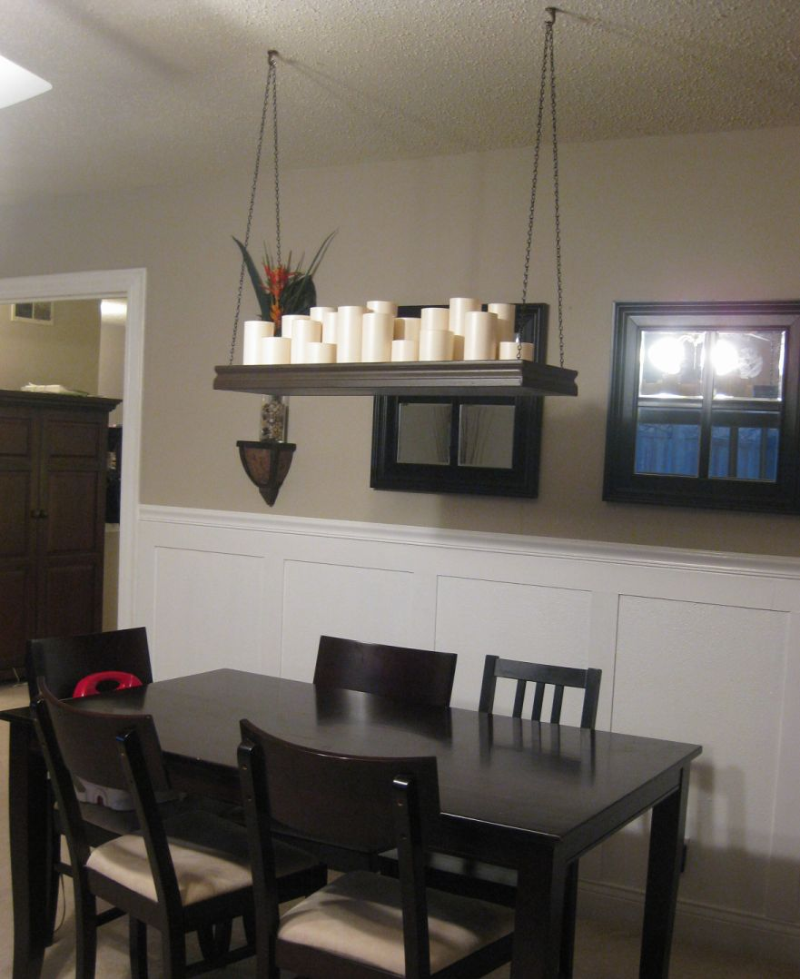 Candle Chandelier over dining table – Home Decorating Trends – Homedit