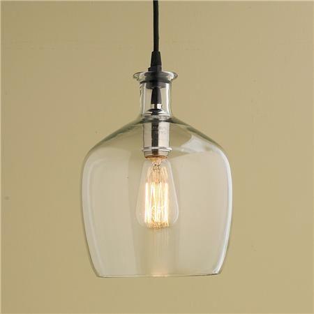 Carafe Glass Pendant Light – Small