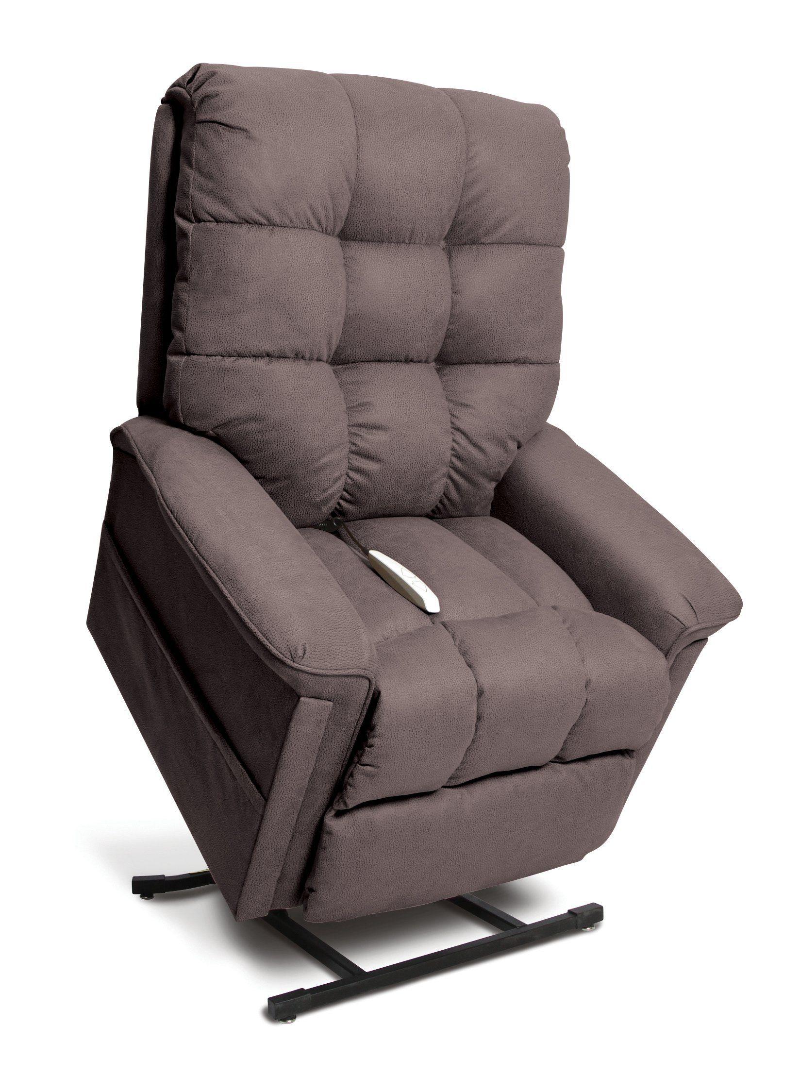 Casual Contemporary Mink Brown 3 Position Lift Chair – Nebraska