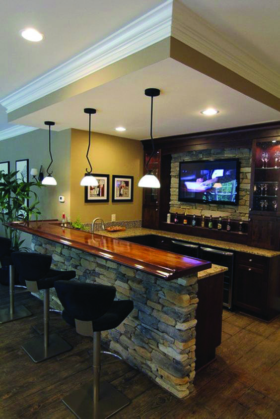 Cellar Designing Ideas to Create a Multifunctional Residing Room