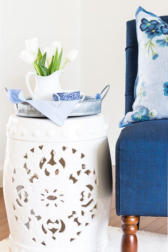Ceramic Garden Stool Styling Ideas