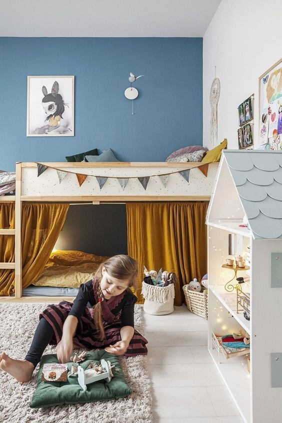 Children's bedrooms: From Toddler to Big-Kid Bed – https://pickndecor.com/interior
